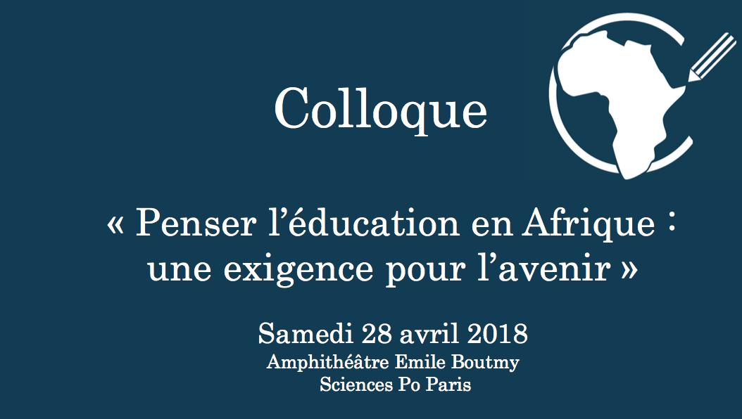 Colloque de l'ASPA : Éducation en Afrique